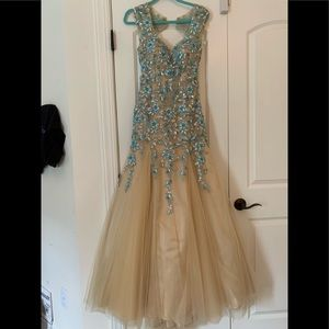 Tony Bowls Pageant Formal Mermaid gown